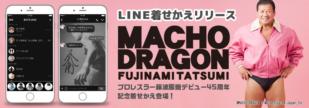 藤波辰爾 ~MACHO DRAGON~